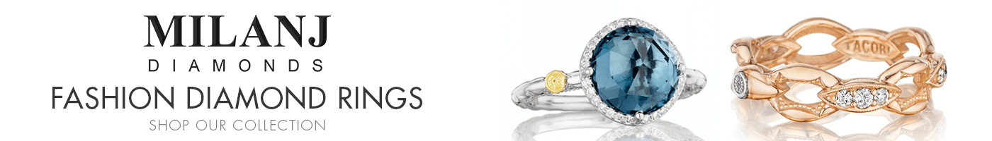 Diamond Fashion Rings at Milanj Diamonds