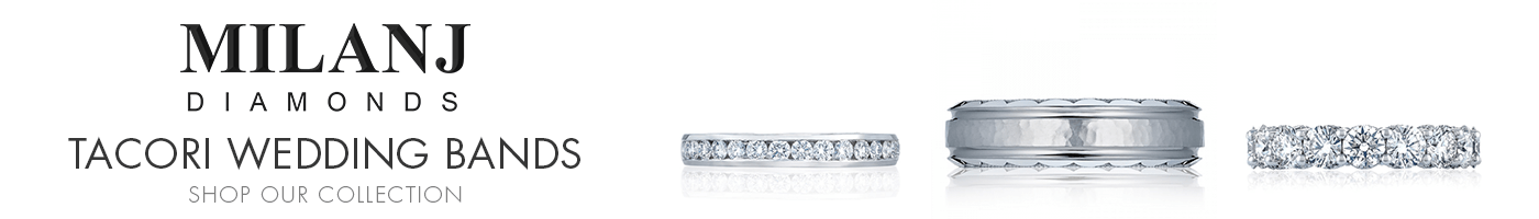 Tacori Wedding Bands at Milanj Diamonds