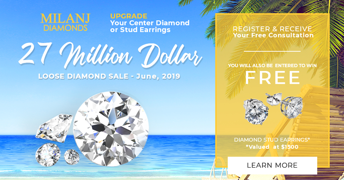 27 Million Dollar Loose Diamond Sale