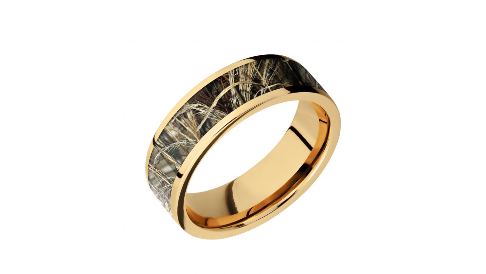 Lashbrook Camo Wedding Band